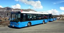 Første Scania-busser til Grønland