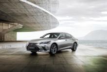 Den helt nye Lexus ES: Tar kjøreglede og sofistikert teknologi til et nytt nivå