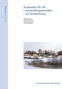 SVU-rapport 2012-09: Kostnader för VA i omvandlingsområden – en handledning