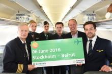 Direktflyg från Stockholm till Beirut med Germania Airline