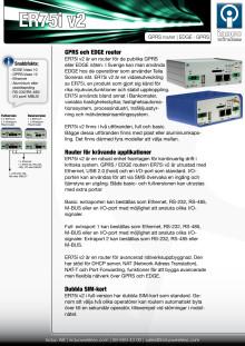 ER75i v2 EDGE router/GPRS router