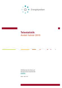 """Publikationen """"Telestatistik - andet halvår 2015"""" (pdf-fil)"""