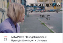 AMWIN live / Djungeltrumman x Hyresgästföreningen x Universal