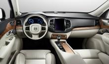 En första titt inuti nya Volvo XC90