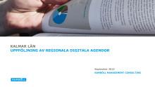 Uppföljning av regionala digitala agendor – Kalmar län