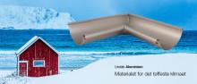 Lansering av Lindab Rainline takrennesystem i aluminium