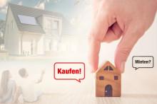 Raus aus der Miete und rein ins Eigenheim: Wohneigentum ist günstiger als Mieten