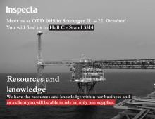 Møt Inspecta på OTD 2015