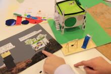 Järfällaelever deltar i arkitekturutställning i USA