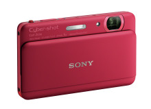 Schön und leistungsstark: Mit der DSC-TX55 stellt Sony die weltweit dünnste Digitalkamera[1] mit Full HD Video vor
