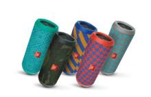 JBL præsenterer farverige specialudgaver af bærbare højttalere
