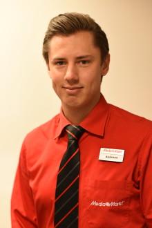 Andreas Elmqvist tillträder som varuhuschef på Media Markt i Växjö