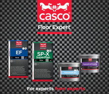 Casco Floor Expert - ett skräddarsytt sortiment för enklare golvläggning
