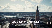 """PM von LH Kiel und Kiel-Marketing: """"Kiel dankt Kiel"""" für den Zusammenhalt - eine Videobotschaft über die Stadt in diesen Tagen - menschenleer"""
