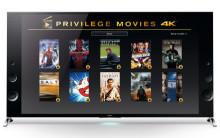 Sonylta 4K-elokuvapaketti kaupan päälle Sonyn 4K Ultra HD -televisioiden ostajille