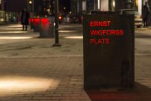 Arkitekturpris till Ernst Wigforss plats i Halmstad