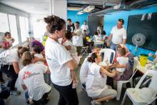 Dyrt vaccin drabbar flyktingbarn i Grekland