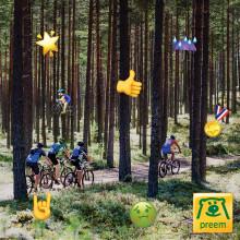 Prestera bättre i Cykelvasan med Preemspåret - nytt cykelspår gör åkarnas energi till musik