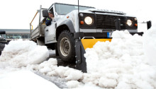 Mitie celebrates 10 years of gritting services
