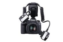 Canon lyser opp rommet med kraftige MT-26EX-RT makro ringblits med to blitslamper