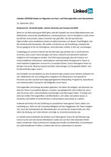 LinkedIn-/BITKOM-Migrationsstudie: Expertenkommentar von BASF