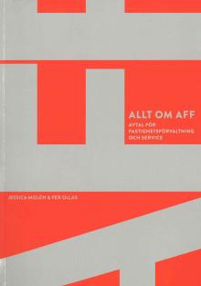 Ny bok – Allt om Aff - så skriver du kompletta avtal inom fastighetsförvaltning
