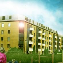 Diligentia bygger nya hyresrätter i centrala Göteborg