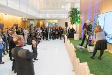 Diligentia återinviger Sveavägen 44 – en hållbar kontorsfastighet med takpark mitt i Stockholm city