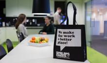 Återanvändbara bärkassar en del av Smiling Faces hållbarhetsstrategi