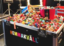 Hemmakväll bekräftar sin plats i fredagsmyset. Den här gången tillsammans med Talang på TV4 och en parallell lösgodistävling.