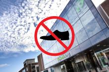 Fröludna Torg blir världens första skofria köpcentrum!