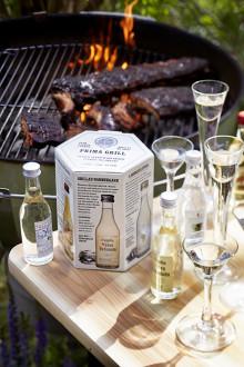 PRIMA Grill – fem utvalda kryddade brännvin som lyfter smaken i grillad mat