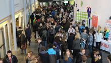 Nära 3 000 nyfikna gymnasieelever besöker campus