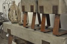 Addera betongen med rost