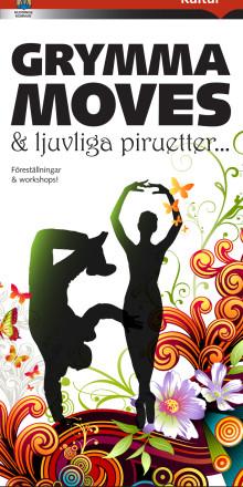 Foldern om vårens dans i Huddinge