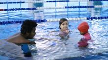 Gratis simskola i sommar