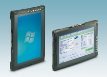 Tablet PCs for portable use, both indoors and outdoors