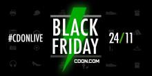 CDON.COM sänder live i 24h på Black Friday