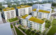 Godkänt bygglov för HSB brf Nätet i Lund