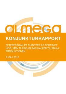 Almegas Konjunkturrapport maj 2016 kortversion
