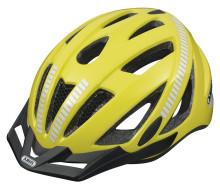 Red Dot Award-vinnande cykelhjälm från ABUS hjälper dig synas i mörkret