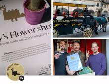 LUCY'S FLOWER SHOP VINNARE AV DN GULDDRAKEN 2020