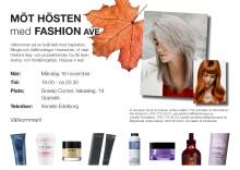Möt hösten med FashionAve -Uppsala