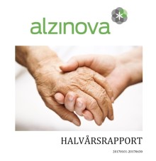 Alzinova släpper halvårsrapport