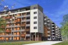 Nya studentbostäder på Campus Flemingsberg när Akademiska Hus säljer mark till ByggVesta