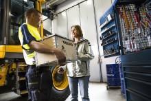 Rekordhög tillgänglighet på Volvo reservdelar hos Swecon