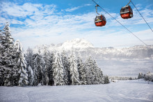 SkiStar opens for skiing in the Austrian skiresort of St. Johann