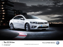 Sporting good looks and luxury combine in new #Volkswagen CC R-Line