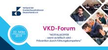 Newsletter KW 6: VKD-Forum im Rahmen des Nationalen DRG-Forums/ Nationalen Reha-Forums in Berlin