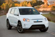 Toyota visar RAV4 som elbilskoncept